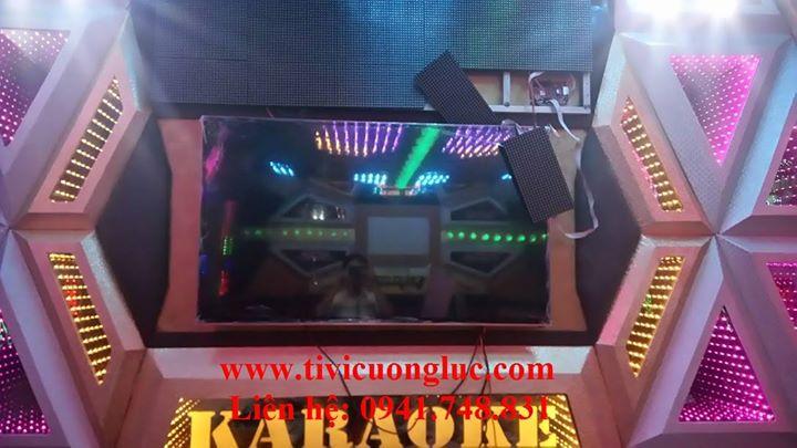 Lắp đặt tivi cường lực cho phòng karaoke